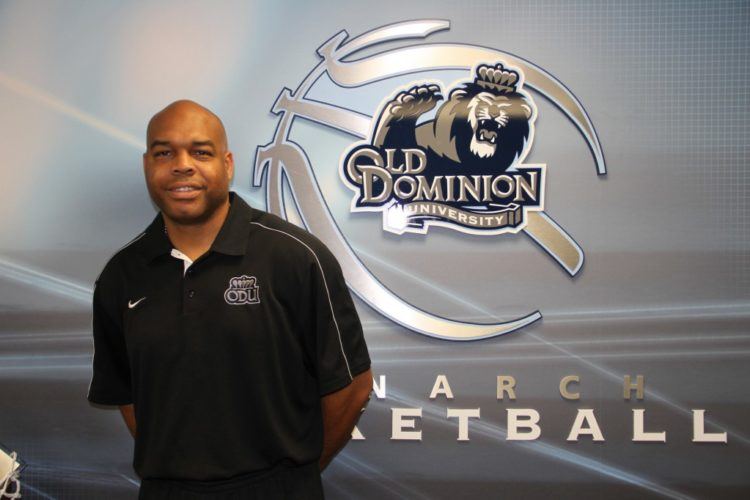 April 2015 ODU Basketball Assistant Coach Bryant Stith And Photos