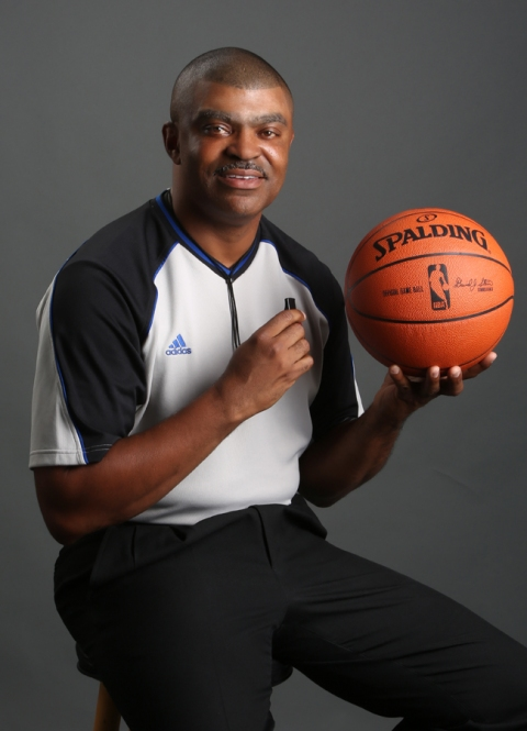 August 2015 NBA Referee Tony Brothers