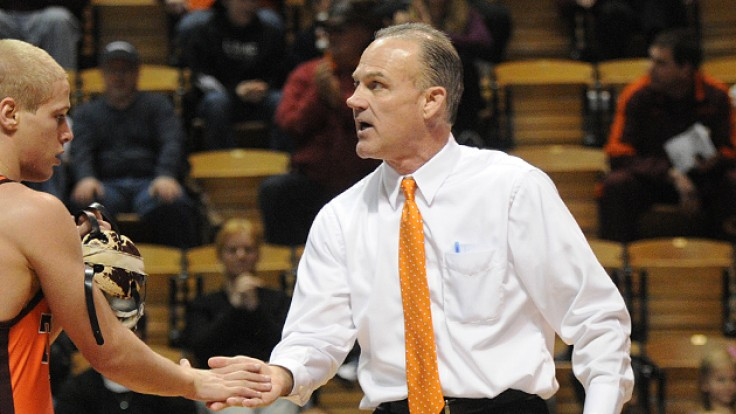 May 2016 Luncheon Kevin Dresser Head Wrestling Coach at VT