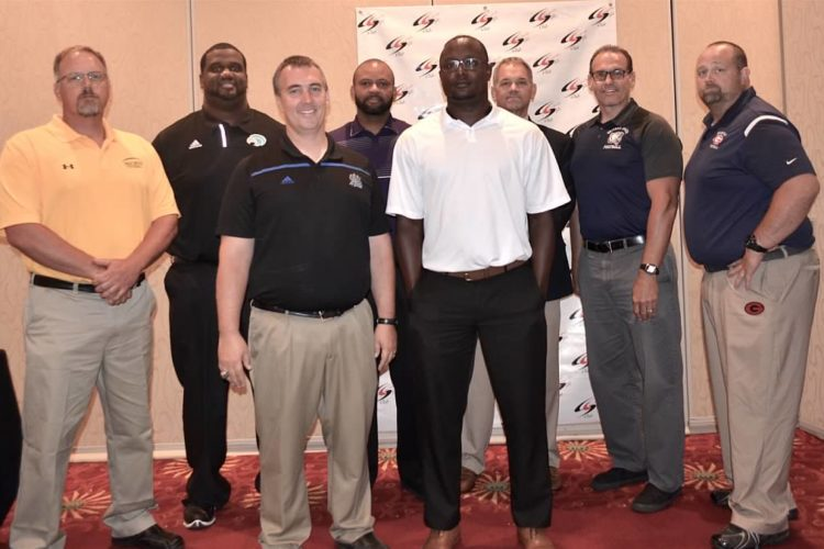 July 2016 Chesapeake High School Football Coaches With Photos