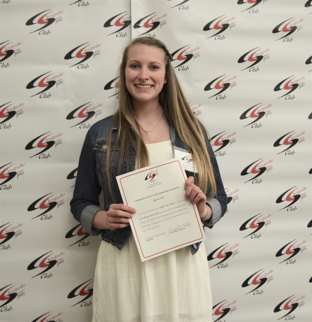 Scholarship Awardee Kaitlyn Marie Nixon, Great Bridge